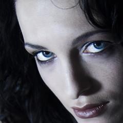 models dark portrait