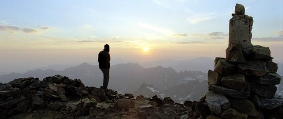 coucher de soleil à 3298 mètres - im'py
