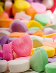 blank candy heart