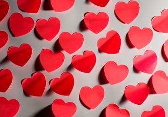 number of valentine´s hearts