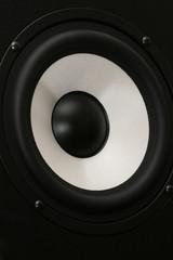 one audio speaker close up