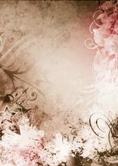 Papiers peints Papillons dans Grunge grunge background texture