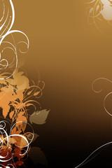 background image floral
