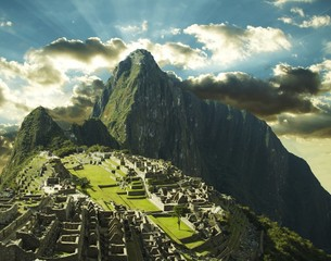 Photo sur Aluminium Amérique du Sud machu-picchu city