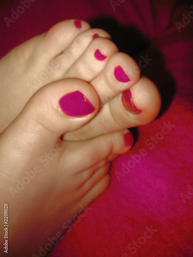 The world of sexy toes