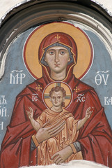 russian virgin and child