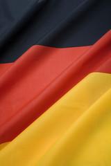 close up of portrait german national flag