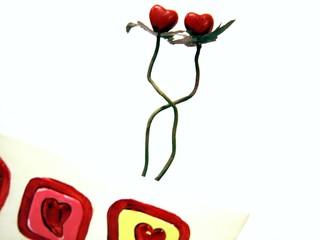 l'amour est comme une fleur,il s'épanouit.