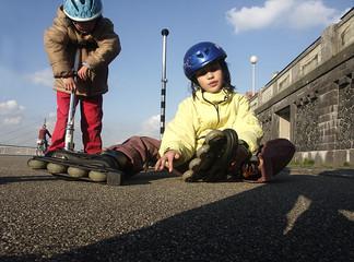 kinder bei sportlichen aktiviten