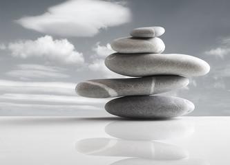 Obraz pile of five stones - fototapety do salonu