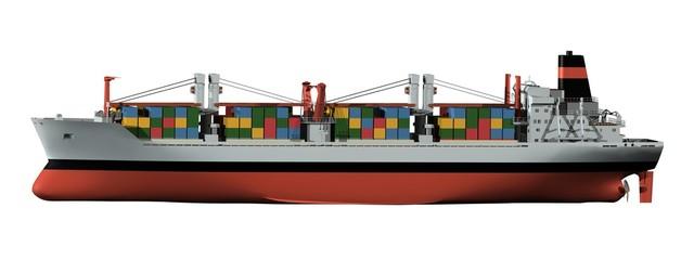 cargo freighter frachter