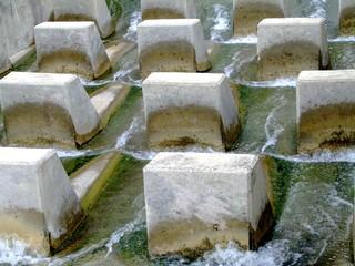 water inlet baffles