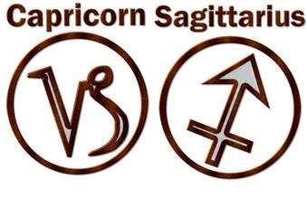 capricorn & sagittarius