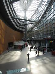 interior of metal building