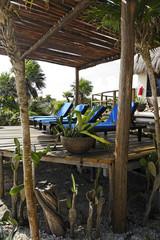 terrace of a cabana