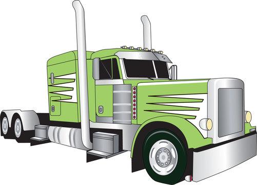 big green truck