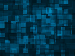 abstract  background -- blue square