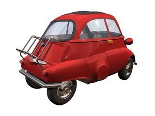 petite automobile rouge