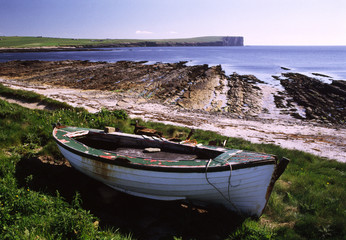 boat by the shore