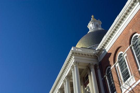 massachusetts state house detail