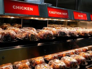 fast food rotisserie grilled chicken