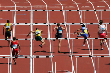 Estores personalizados esportes com sua foto hurdles 001