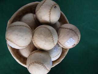 pelotas de pelota mano