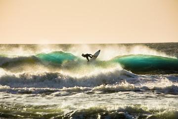 sundown surfer