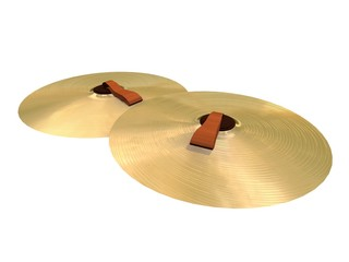 cymbales percussions