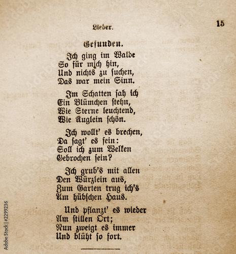 Liebesgedicht Goethe Liebesgedichte Romantisch Oder