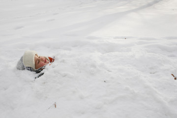 child earth snow