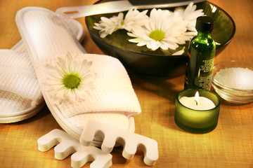 spa therpy for feet