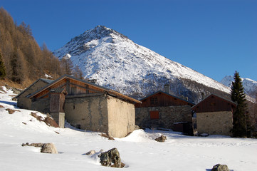 chalet en haute montagne 2
