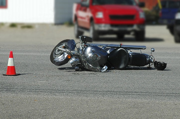 motorcyclye accident