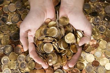 a fistful of money