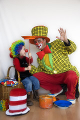party with clown
