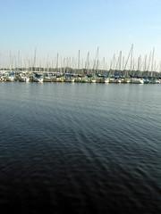 lake and sailboats