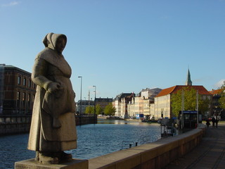 estatua de la pescadora - copenague