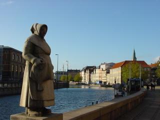 estatua de la pescadora - copenague