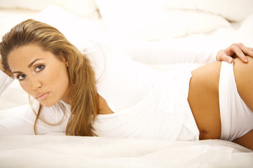 sweety on bed