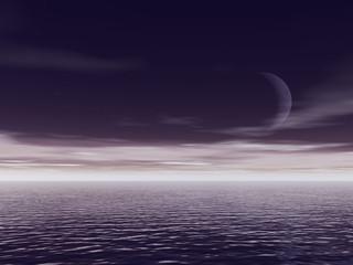 ocean night