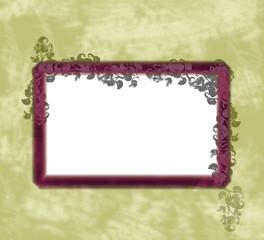 background - frame - flower