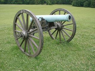 wheeled canon