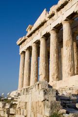 columns of parthenon greece