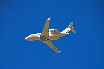 modern private jet