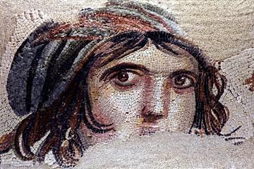 Deurstickers Turkije zeugma mosaics, turkey