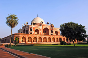 Photo sur Aluminium Delhi india, delhi: humayun tomb