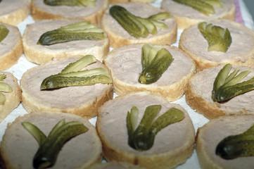 toats au pâté