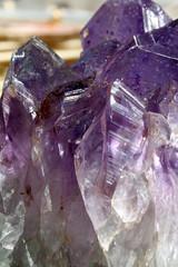 amethyst gem close