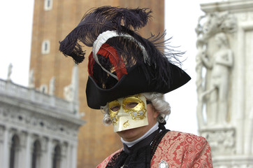 man with a mask